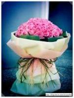사랑해요.100송이꽃다발