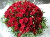 100송이 꽃다발 사랑합니다.
