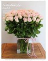 장미 100송이 꽃병